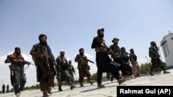 جنگجویان طالبان در کابل