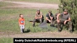 Ուկրաինացի զինվորականները Կիևի շրջանում, արխիվ