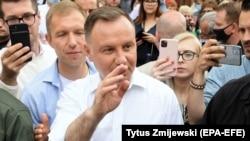 Președintele polonez Andrzej Duda