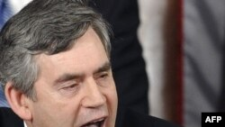 Premierul britanic Gordon Brown