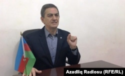 Azerbaijani oppositionist Ali Kerimli (file photo)