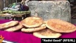 Таджикский традиционный хлеб