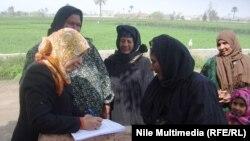 إستطلاع للرأي في قرية بمصر