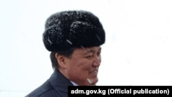 Аскар Мамин в бытность заместителем премьер-министра Казахстана.