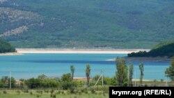 Чорноріченське водосховище, кінець травня 2020 року