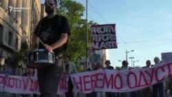Protest u Beogradu: Srbiji oduzeta budućnost