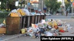 """Бишкектеги """"Тазалык"""" ишканасына коомчулук арасында нааразылык күч"""