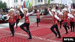 Традиционное праздничное мероприятие в Туркменистане