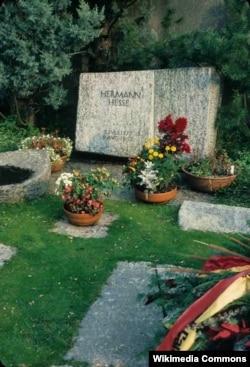 Mormântul lui Hermann Hesse