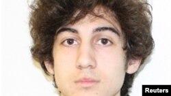 U.S. -- Suspect #2 in the Boston Marathon explosion Dzhokhar Tsarnayev is pictured in this undated FBI handout photo