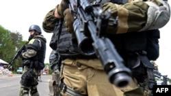 Украина -- Славянскехь сепаратисташца тIемаш беш ду эскарш, 5Заз2014