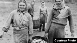 Жители деревни Попадейкино