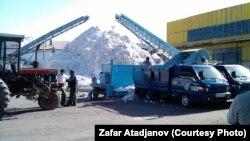 Кыргызстандагы пахта заводдорунун бири. Архивдик сүрөт.