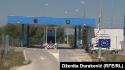 На границе Боснии и Герцеговины с Хорватией.
