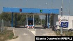 La granița dintre Croația și Bosnia