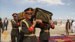 Slain Afghan Peace Negotiator Buried In Kabul