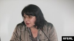 Гузяль Байдалинова, главный редактор газеты «Республика – деловое обозрение». Алматы, 29 сентября 2009 года.