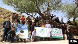 کوهنوردی اعضای «انجمن سبز چیا»، خرداد ۱۳۹۵