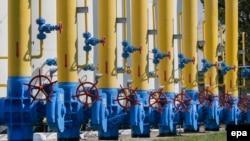 Газокомпрессорная станция в селе Боярка под Киевом. Один из каналов поставки российского газа в Европу проходит через территорию Украины.