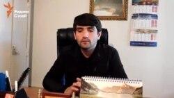 Раиси бозори Сомониён: Чолов бо таҳдиди силоҳ бозорро аз мо гирифт