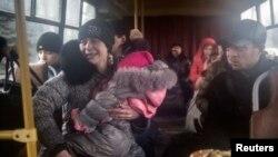 Дебальцеве: ще група мешканців їде в евакуацію, 3 лютого 2015 року