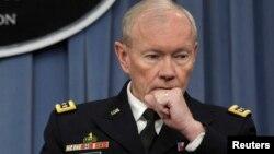 АҚШ қорғаныс министрлігі штаб басшыларының біріккен комитетінің төрағасы, генерал Мартин Демпси.
