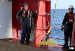 یک کشتی استرالیایی مجهز به ردیاب سیگنالهای جعبه سیاه