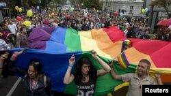 Sa prošlogodišnje Parade ponosa, Beograd
