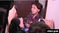 Зоя Светова после обыска в ее квартире. Москва, 28 февраля 2017 года.