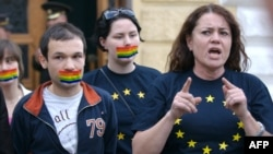 EU-backed legislation to prevent discrimination against Moldova's gay community and other minorities is meeting with fierce opposition in some parts of the country. (file photo)