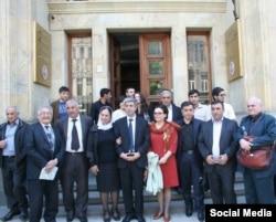 Gürcüstanda yaşayan azərbaycanlı yazarların bir hissəsi