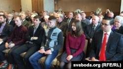 Студэнты БДУ і БНТУ на сустрэчы зь Генадзем Зюганавым