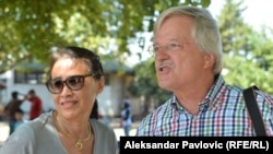 Turisti koji su doneli pomoć migrantima u Beogradu