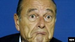 Ish-presidenti i Francës, Jacques Chirac.