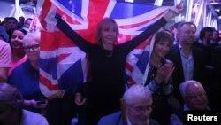 Прихильники Brexit напередодні референдуму у Великобританії, Лондон, червень 2016 року
