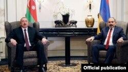 Ильхам Алиев и Никол Пашинян. Архивное фото