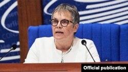 ԵԽԽՎ նորընտիր նախագահ Լիլիան Մորի-Պասքիե, Ստրասբուրգ, 25-ը հունիսի, 2018թ․