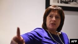 Ministrja e Financave e Ukrainës Natalie Yaresko