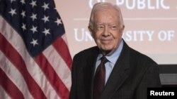 Jimmy Carter, 2015.