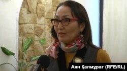 Галия Аженова, представитель прессозащитной организации «Адил соз».