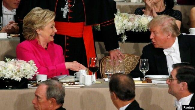 Хиллари Клинтон и Дональд Трамп