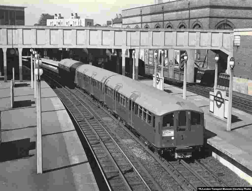 The Acton Town Station in 1938