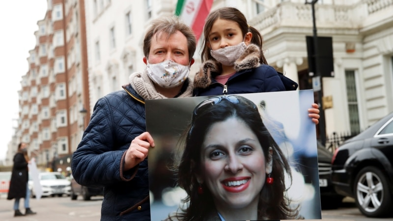 British-Iranian Woman Fears Return To Prison In Iran, Husband Says After Extra Year Added To Sentence