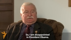 Walesa Criticizes Obama For 'Lack Of Leadership'