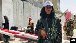 Talibançılar Kabildəki ABŞ səfirliyi yaxınlığında