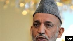 Afghanistan -- President Hamid Karzai in Kabul, 14Jul2008