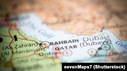 Bahreýniň kartasy