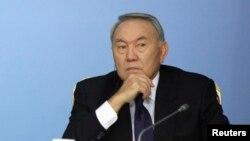 Қазақстан президенті Нұрсұлтан Назарбаев. Астана, 5 желтоқсан 2014 жыл.