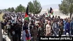 Civili revoltați față de acțiunile Taliban, în provincia Khost