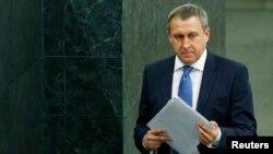 Андрій Дещиця, виконувач обов'язків міністра закордонних справ України